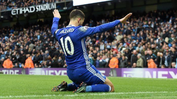 Hazard has rarely crossed the 25-goal per season mark since joiningChelsea