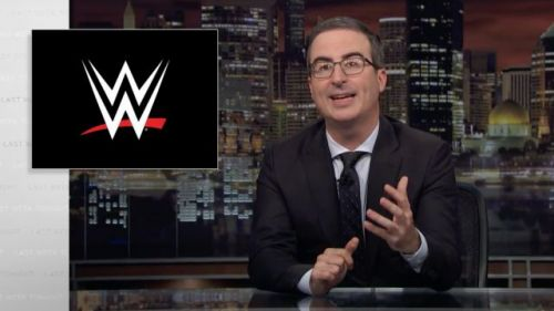 John Oliver criticises WWE over Crown Jewel event