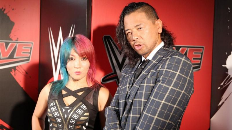 Shinsuke Nakamura and Asuka