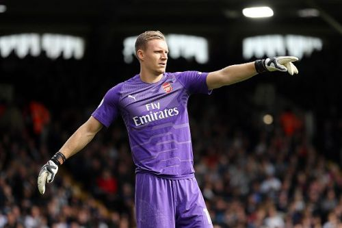 Bernd Leno is likely to keep his place between the sticks.