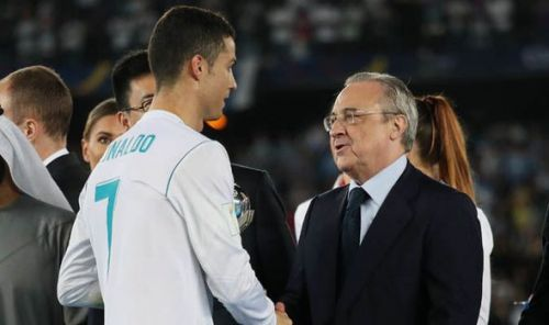 Cristiano Ronaldo has accused Florentino Perez of forcing him out of Real Madrid