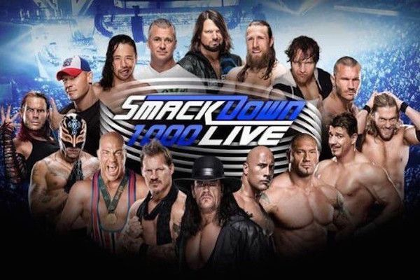 WWE could be set to screen a huge episode of SmackDown Live