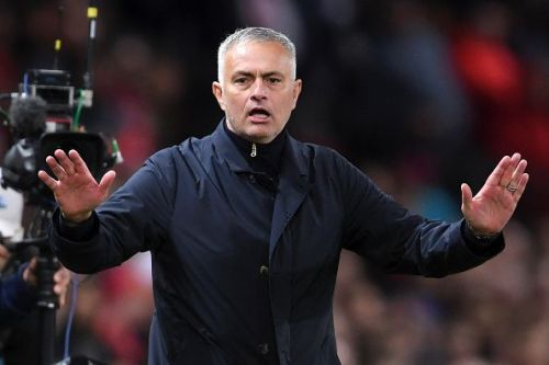 Jose Mourinho has come under heavy scrutiny once again after United's poor run of form
