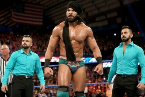 Jinder fits well into the Indian gimmick