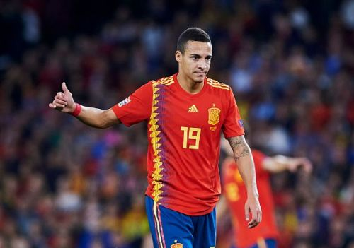Rodrigo struggled to act as a focal point in attack for Spain