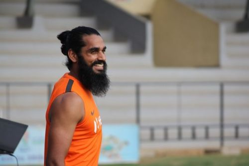 India defender Sandesh Jhingan (Image: AIFF Media)