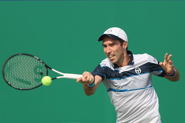 Kukushkin achieved the rare feat of defeating the same player twice in 2018 Vienna Open - first in the qualifying round and then in the main draw
