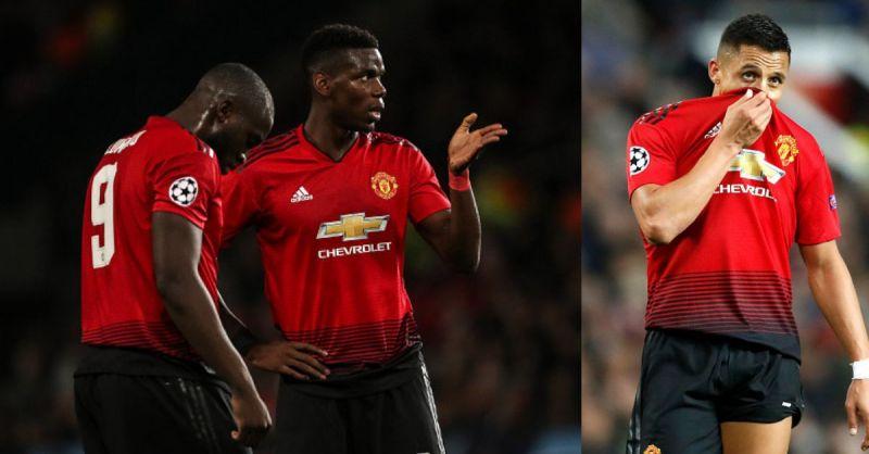 Romelu Lukaku, Paul Pogba and Alexis Sanchez were brutally criticized