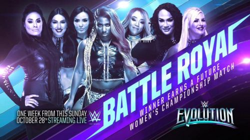 SmackDown Live talent apparently unhappy with Evolution Battle Royal