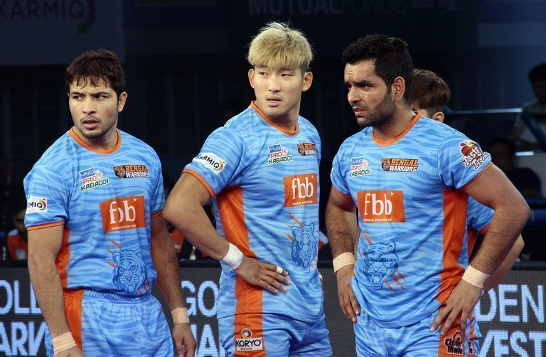 Bengal Warriors have started strong