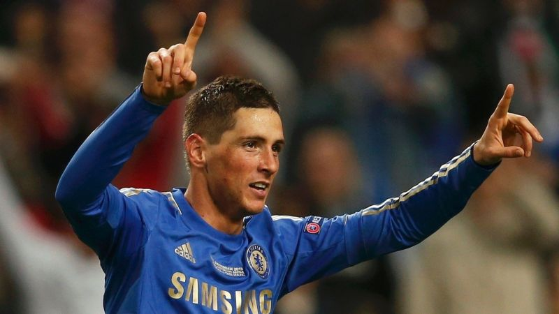 Torres scored in seven different competitions for Chelsea in 2012/13