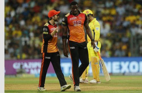 Braithwaite had only 2 runs to defend