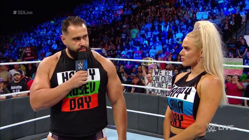 Is Lana pulling all the strings that we see on SmackDown Live?