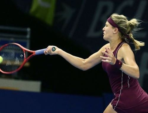 Eugenie Bouchard earns a great victory over Timea Babos at the Luxembourg Open