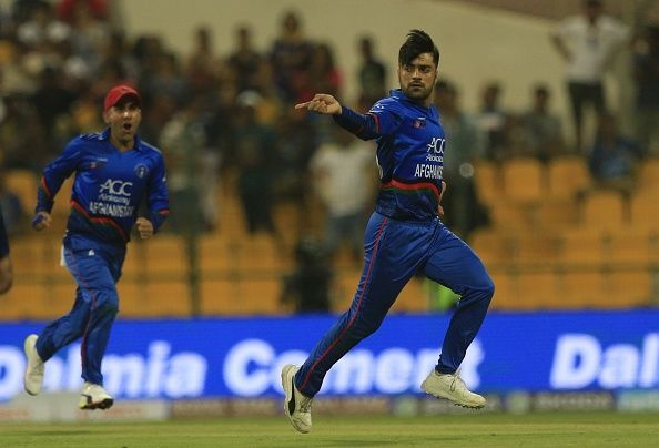 Rashid Khan is currently the No.1 ranked T20I bowler in the world