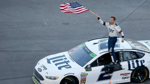Brad Keselowski Ford Monster Energy NASCAR Cup Series Alabama 500 15102017