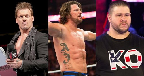 The WWE United States Championship played the role of a hot potato between Chris Jericho, AJ Styles and Kevin Owens on the blue brand