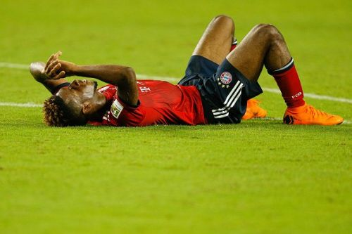 Kingsley Coman was injured in the first game of the season against Hoffenheim