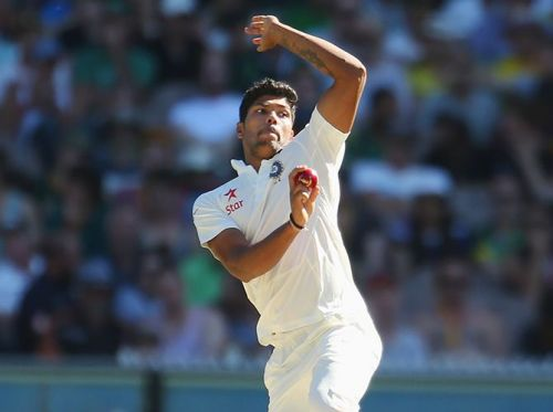 Umesh Yadav finished with 6 for 88, his best bowling figures in Test matches