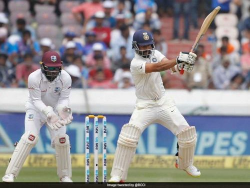 The second day of tests was an absorbing one between West Indies and India