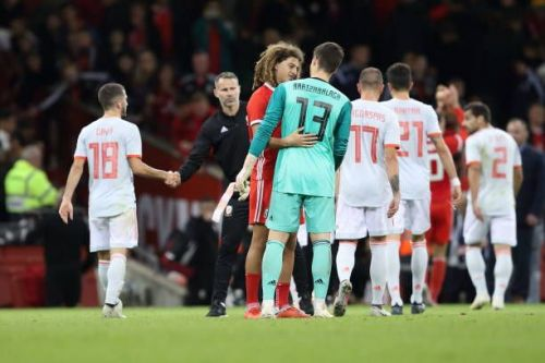 Wales faltered against a well-drilled Spanish unit
