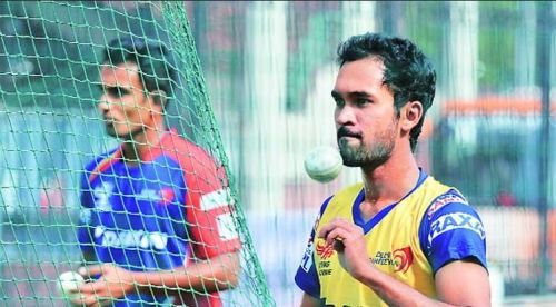 Sriram ensured they had two wrist spinners Jiyas and Pardeep Sahu, a leggie, both with decent IPL exposure, bowling ball after ball against the Aussie batsmen