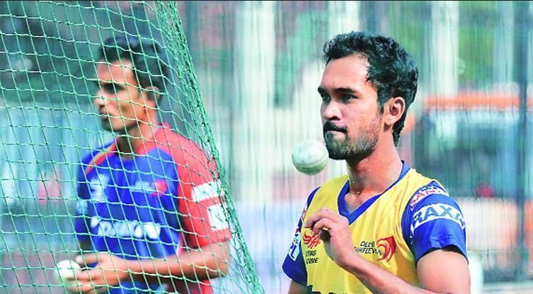 Sriram ensured they had two wrist spinners Jiyas and Pardeep Sahu, a leggie,both with decent IPL exposure, bowling ball after ball against the Aussie batsmen
