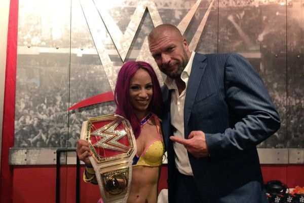 Image result for Triple H wants female wrestlers to be inspired by girls