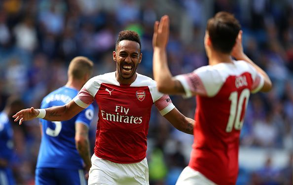 Aubameyang and Ozil are likely to be deployed as wingers