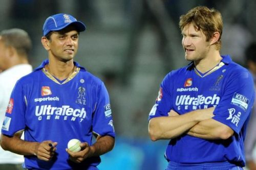 Shane Watson was Rahul Dravid's most bankable player