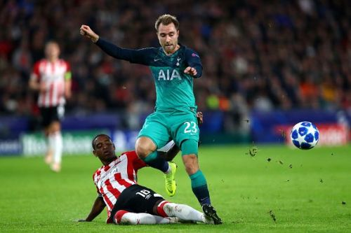 Eriksen's play-making abilities will be key to Spurs' chances on Monday night.