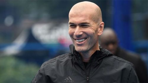 Zidane is heavily linked to replace Jose Mourinho
