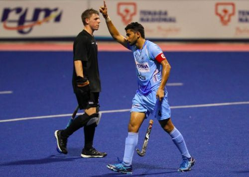 Skipper Mandeep Mor's lone goal help the Indian Colts' win their third consecutive match at the 8th Sultan of Johor Cup 2018