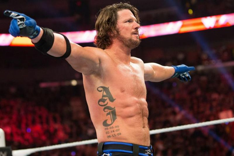 Styles made his name with TNA
