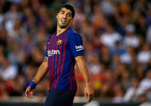 Luis Suarez is showing signs of slowing down