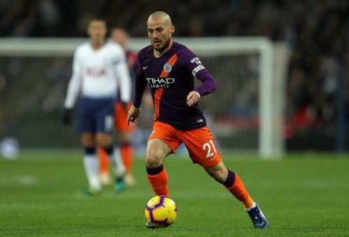Silva has kept his place in the team under Pep Guardiola
