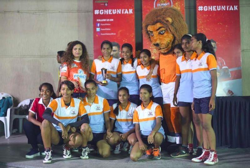 V.S. Satav High School Winners in Girls Category