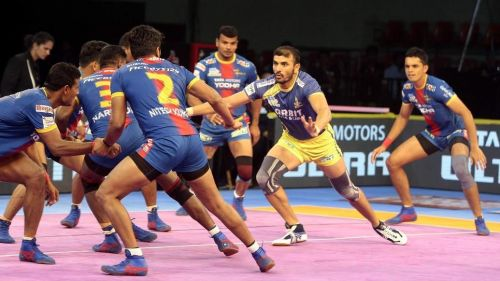 Ajay Thakur has been the top scorer for the Tamil Thalaivas
