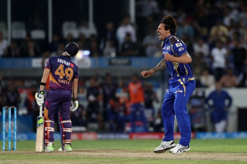 Mitchell Johnson led the Mumbai Indians to a memorable victory in the 2017 IPL final
