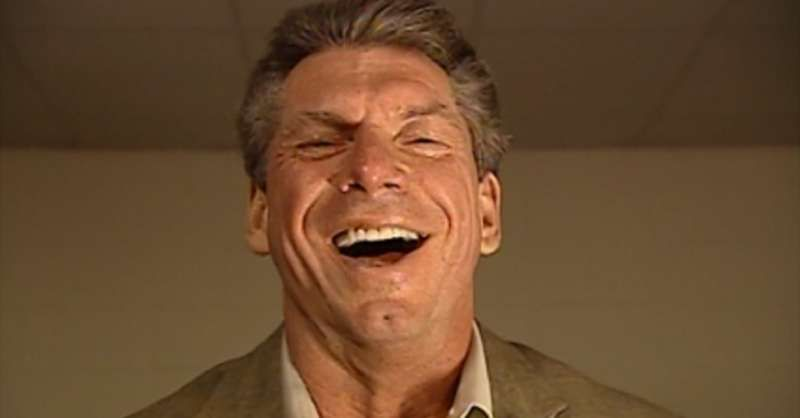 Vince McMahon has lost it several times on WWE TV