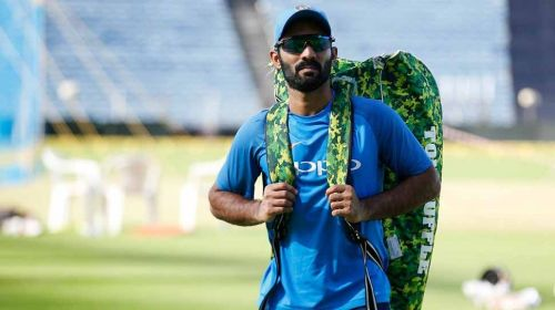 Image result for dinesh KArthik  disappointed
