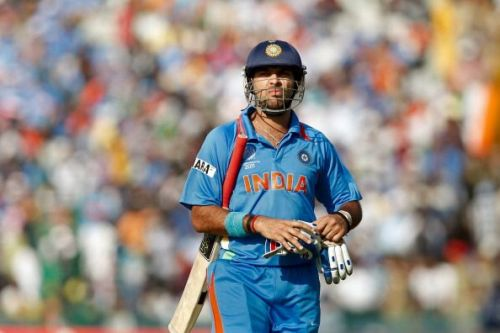 Yuvraj Singh, the 2011 World Cup hero, had a horrid time with the bat in the 2014 T20 World Cup