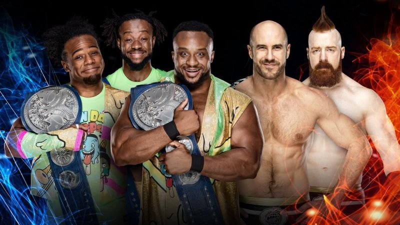 Image result for new day vs the bar super showdown