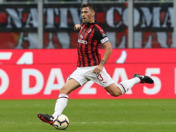 Manchester United are interested in signing Alessio Romagnoli