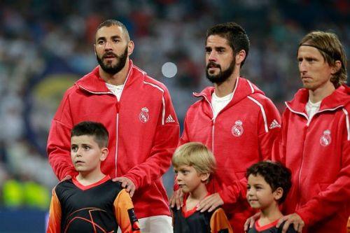 Real Madrid  v AS Roma - UEFA Champions League Group G