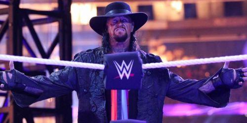 Undertaker has the same eerie presence backstage