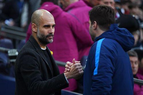Guardiola and Pochettino face-off once again at Wembley