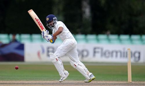 Prithvi Shaw made a century on his Test debut