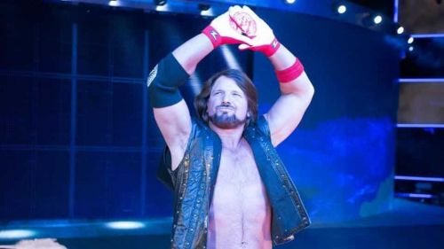 AJ Style's current contract expires in 2019