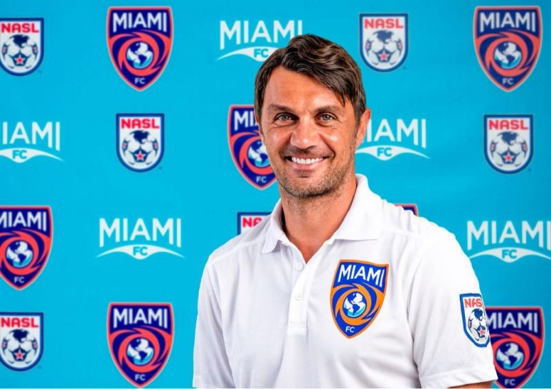 Maldini's former teammate Alessandro Nesta was the first manager of Miami FC